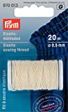 Prym Elastic Sewing Thread 0.5 mm Natural White