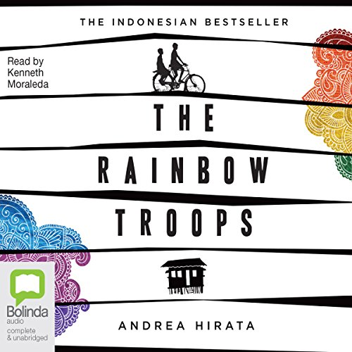 The Rainbow Troops audiobook cover art