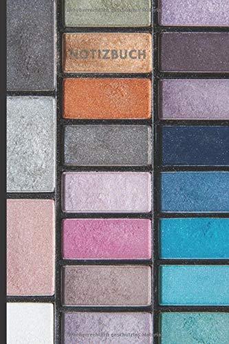 Notizbuch: Blanko Dot Grid Punkteraster Notizbuch für Beauty, Kosmetik, Visagisten, Make Up Artists | Geschenkidee für Make Up Lovers