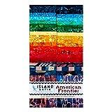 Island Batik American Frontier Streifen-Set, 6,3 cm, 40