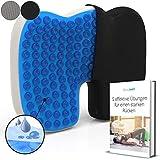 Mosswell® Ergonomisches Sitzkissen. Lässt Steißbein schweben. Steissbeinkissen mit Gel