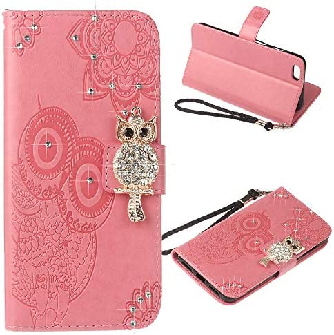 COTDINFORCA Compatible with iPhone 6S Case iPhone 6 Glitter Wallet Case Leather with Card Slots product image
