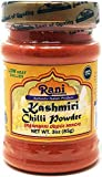 Rani Kashmiri Chilli Powder (Deggi Mirch, Low Heat) Ground Indian Spice 3oz (85g) PET Jar ~ All...