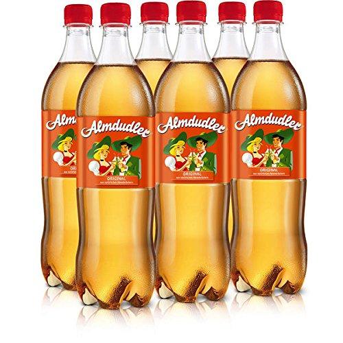 18 Flaschen a 1000ml Almdudler Kräuterlimonade inc.4,50€ EINWEG Pfand Limonade Alpenkräuterlimonadees Getränk inc. 6,00€ Pfand