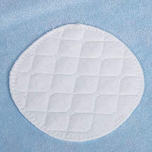 Guangcailun 10st tre lager av ekologisk bomull Tvättbar Amning Pads bomull Breast pad Amningsinlägg