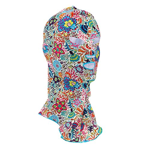 Facekini - Gesicht Bikini, Voll Gesicht UV-Schutz Schwimmen Maske Kopf Und Hals Schutz Haube, Sonnenschutz Outdoor Strand Aktivitäten, Wassersport - Stil # 3