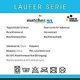 matches21 Küchenläufer Teppichläufer Teppich Läufer Holzbrett 50x180x0,4 cm rutschfest maschinenwaschbar Küchenvorleger - 2