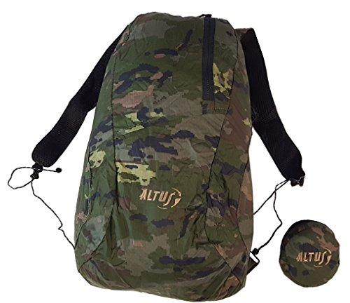 Altus Sac à dos ultra léger 20 l Motif camouflage 118 g