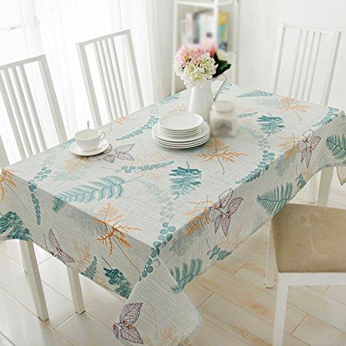 Lying Table ronde Tissu Tissu Salon Table basse Rectangle Tissu de bureau Toile de cuisine Strip Littérature et art - Décoration de table (taille : 110 * 170CM)