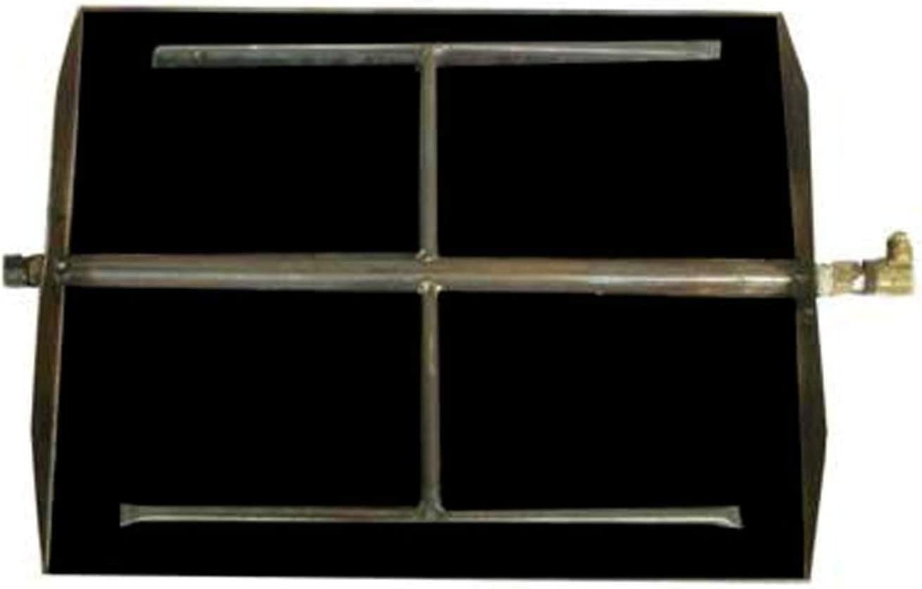 RealFyre Free shipping Free shipping on posting reviews Vented Fireplace Fire Burner See-T G45-2-GL-30 Glass