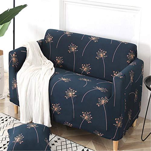 BSBDZD Hoekbank, all-inclusive antislip, elastische combi-bankovertrek, woonkamersofaovertrek van polyester, bloemenpatroon 7