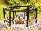 Noch- Barbecue Place with Swings altalene, Colore Colorato, 14369