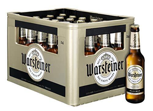 Warsteiner Premium Pilsener Bierpaket, Mehrweg (24 x 0.33l)