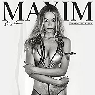 Maxim 2018 Mini Wall Calendar