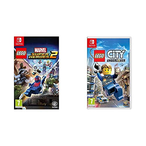 Lego Marvel Super Heroes 2 + City Undercover