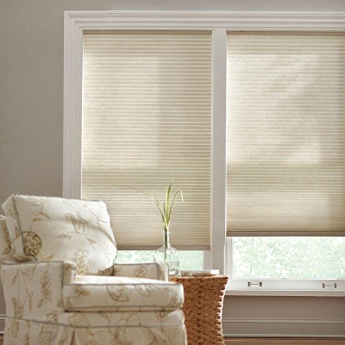 Home Decorators Collection Parchment Cordless Cellular Shade (Price Varies by Size)