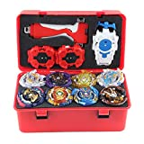 Non-brand 12pcs Burst Gyro Novedad Spinning Game Toy W / Launcher...