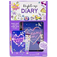 Just My Style Light Up Diary By Horizon Group USA