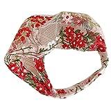 GREEN&RARE Pañuelo para mujer y niña, estilo pastoral, con encaje ancho,...