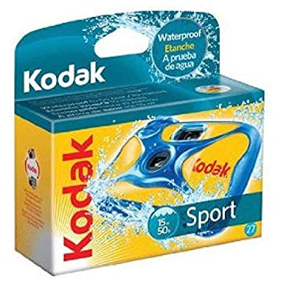 Kodak Sport 8004707 Disposible Camera Waterproof by Kodak