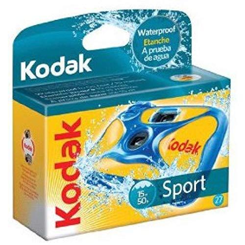 Kodak Sport wasserdichte Einwegkamera ISO 800 (27 Bilder)