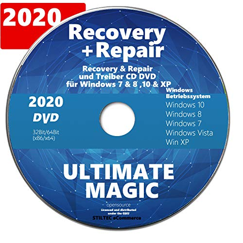Recovery & Repair CD/DVD für Win...