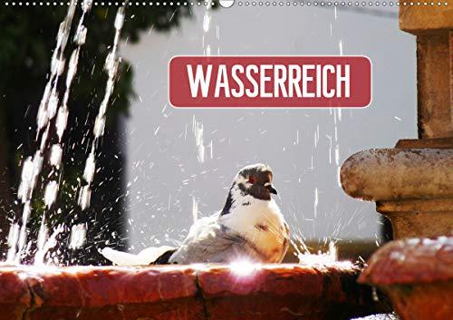 Wasserreich (Wandkalender 2021 DIN A2 quer)