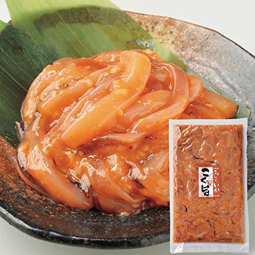 塩辛 函館 こく旨みそいか 500g×1 北海道 珍味 誉食品