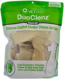 Vet One DuoClenz EnzymeCoated Dental Chews Large (30 Count)
