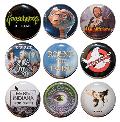 Button Zombie TV- und Filmplakette, 80er und 90er Jahre, 25 mm