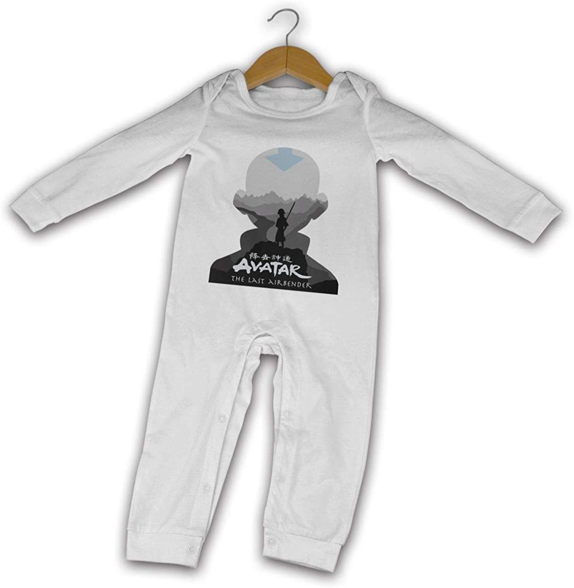 Avatar The Last Airbender Long Sleeves Bodysuit Romper 100/% Cotton Jumpsuit Baby Clothes Unisex Girls Boys
