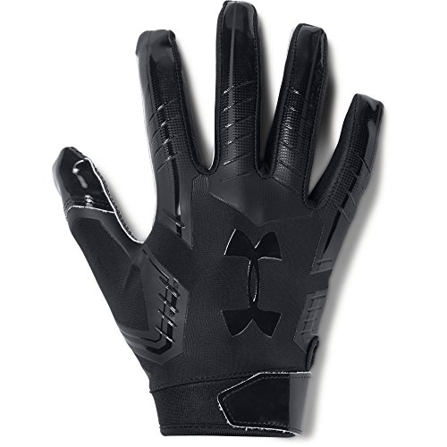 Under Armour mens F6 Football Gloves Black (002)/Black X-Large