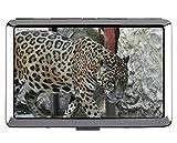 Scatola portasigarette, scatola portacorrente tascabile Jaguar Leopard