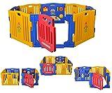 Star Ibaby Play Twin Parc bébé XXL 8 pièces