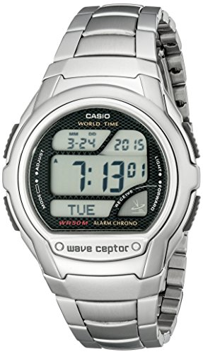 Casio Men's WV58DA-1AV 'Waveceptor' Atomic Sport Watch