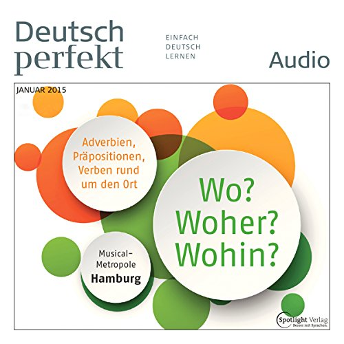 Deutsch perfekt Audio. 1/2015 Titelbild