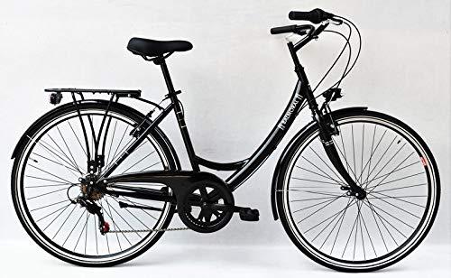 Unbekannt 28 Zoll Damen City Fahrrad CITYFAHRRAD DAMENFAHRRAD CITYRAD DAMENRAD Rad Bike Shimano 6 Gang Balmoral Lady Schwarz