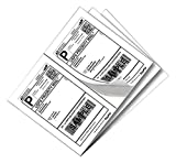 SJPACK 1000 Half Sheet Self Adhesive Shipping Labels 8.5' x 5.5' Address Labels for Laser & Inkjet Printers