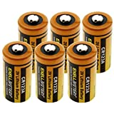 (6-Pack) 3.0V Exell EB-CR123A Lithium Battery Fits Honeywell 5816, 5816MN, 5819, 5815Replaces VL123A EL123A, EL123AP, VL123A, CR123, CR123-2 PRCR123-2   Highest Capacity ON The Market 1700mAh 