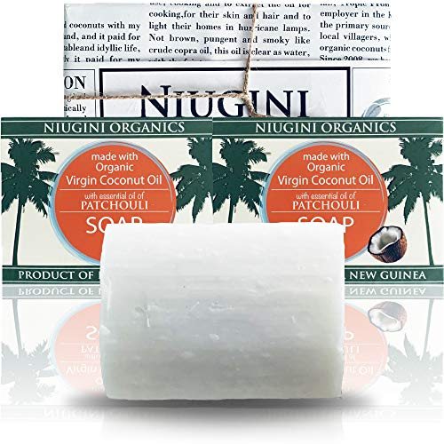 2 x Die Reinste Bioseife DER WELT Aus 100% Bio Kokosöl Mit Patschuliduft   8% Überfettet   2 x 100g