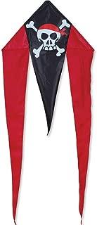 Premier Kites Mini Flo-Tail Delta Kite - Skull & Crossbones