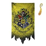 birthday decor for harry flag potter Banner - Gryffindor Slytherin...