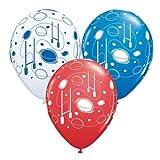 Ballons De Rugby & Postes Qualatex 27.9cm Ballons En Latex x 5