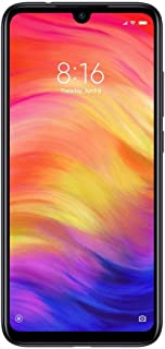 Xiaomi Redmi Note 7 6.3 Inches Dual SIM Smartphone - 64GB, 4GB RAM, 4G LTE - International Version - Black (Pack of1)