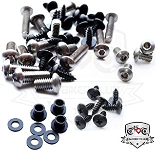 Fairing Bolt Kit Screws Fasteners Stainless Steel for Yamaha YZF R6 2006-2007
