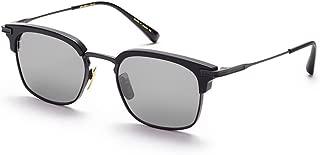 Dita NOMAD DRX 2080 C-T-BLK Matte Black-w/ Dark Grey-Black Flash-AR Sunglasses