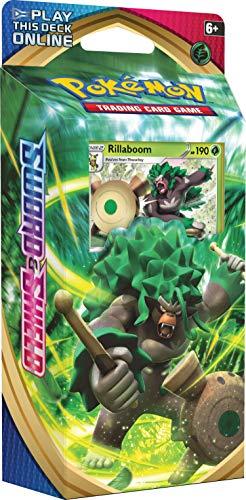 Pokemon TCG: Sword & Shield Theme Deck - Rillaboom | Genuine Cards,...