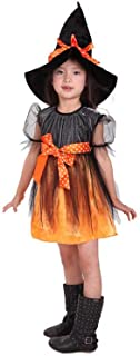 Matissa Kids Halloween Witch Costume Fancy Dress Party