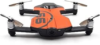 Kaiaki Wingsland S6 Pocket Selfie Drone WiFi FPV con cámara 4K UHD Evitación Integral de obstáculos,Orange
