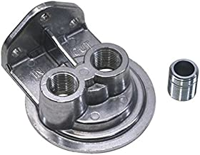 Single Remote Oil Filter Bracket, Vertical Outlet, 13/16-16 Thread